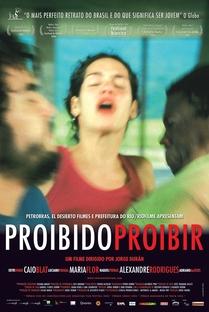 Proibido Proibir - Poster / Capa / Cartaz - Oficial 1