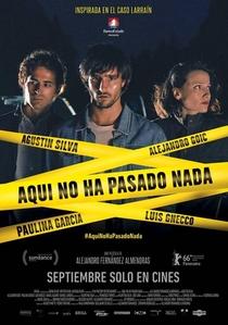 Aqui Não Aconteceu Nada - Poster / Capa / Cartaz - Oficial 3