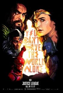Liga da Justiça - Poster / Capa / Cartaz - Oficial 8