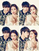 We got Married Season 4: Brown Eyed Couple (We got Married Season 4: CNBlue Lee Jong Hyun and Gong Seung Yeon)