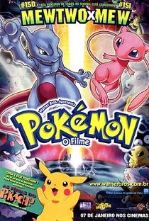 Pokémon 1: O Filme - Poster / Capa / Cartaz - Oficial 2