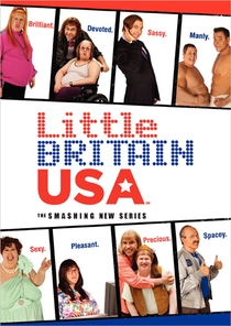 Little Britain USA  - Poster / Capa / Cartaz - Oficial 1