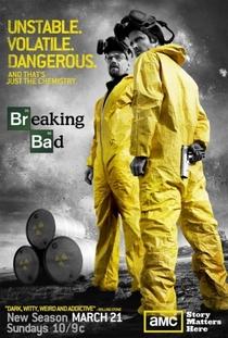 Breaking Bad (3ª Temporada) - Poster / Capa / Cartaz - Oficial 1