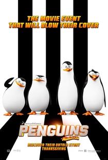 Os Pinguins de Madagascar - Poster / Capa / Cartaz - Oficial 6