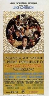 As Primeiras Experiências Amorosas de Casanova - Poster / Capa / Cartaz - Oficial 1