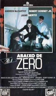 Abaixo de Zero - Poster / Capa / Cartaz - Oficial 3