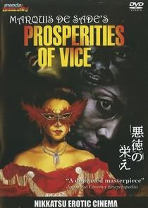 Marquis de Sade's Prosperities of Vice - Poster / Capa / Cartaz - Oficial 1