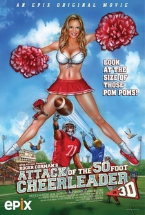 Attack of the 50ft Cheerleader - Poster / Capa / Cartaz - Oficial 2