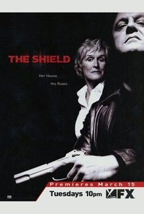 The Shield - Acima da Lei  (4ª temporada) - Poster / Capa / Cartaz - Oficial 1