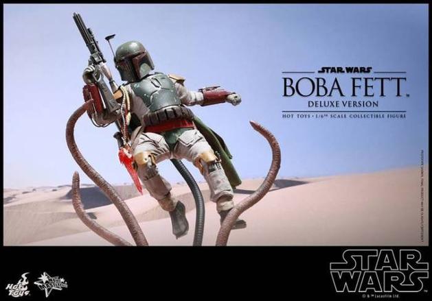 Star Wars: Boba Fett vs Sarlacc na nova action figure da Hot Toys