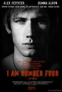 Eu Sou O Número Quatro - Poster / Capa / Cartaz - Oficial 3