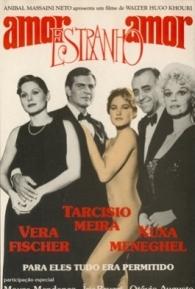 Amor Estranho Amor - Poster / Capa / Cartaz - Oficial 5