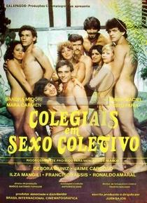 Colegiais em Sexo Coletivo - Poster / Capa / Cartaz - Oficial 1