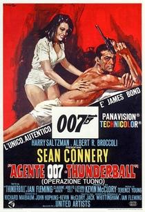 007 - Contra a Chantagem Atômica - Poster / Capa / Cartaz - Oficial 4