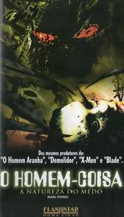 O Homem Coisa - A Natureza do Medo - Poster / Capa / Cartaz - Oficial 2