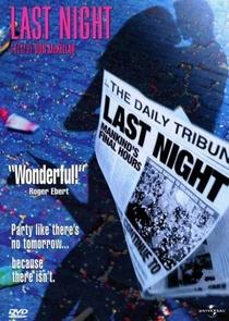 A Última Noite - Poster / Capa / Cartaz - Oficial 2