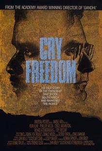Um Grito de Liberdade - Poster / Capa / Cartaz - Oficial 3