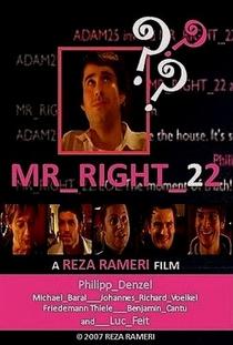 Mr_Right_22 - Poster / Capa / Cartaz - Oficial 1