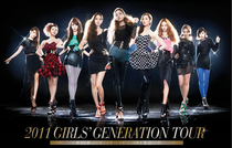 2011 Girls' Generation Tour - Poster / Capa / Cartaz - Oficial 1