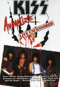 KISS Animalize Live Uncensored - Poster / Capa / Cartaz - Oficial 1