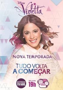 Violetta (2ª Temporada) - Poster / Capa / Cartaz - Oficial 1