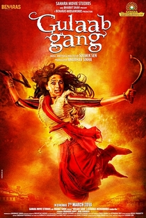Gulaab Gang - Poster / Capa / Cartaz - Oficial 2