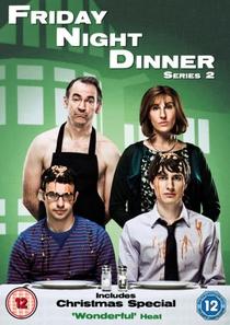 Friday Night Dinner (2ª Temporada) - Poster / Capa / Cartaz - Oficial 1