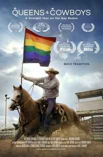 Queens & cowboys - A straight year on the gay rodeo - Poster / Capa / Cartaz - Oficial 1