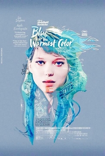 Azul é a Cor Mais Quente - Poster / Capa / Cartaz - Oficial 4