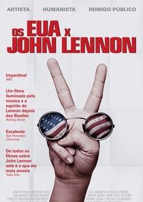 Os EUA X John Lennon - Poster / Capa / Cartaz - Oficial 1