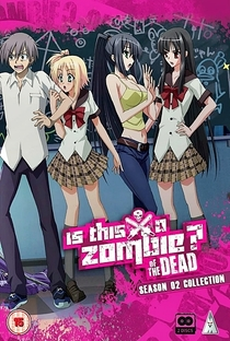 Kore wa Zombie Desu ka? (2ª Temporada) - Poster / Capa / Cartaz - Oficial 1