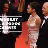 Bill Murray estava a mil por hora no Cannes