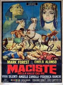 Maciste no Vale dos Reis - Poster / Capa / Cartaz - Oficial 3