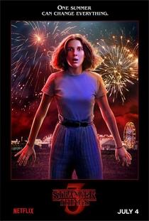 Stranger Things (3ª Temporada) - Poster / Capa / Cartaz - Oficial 5