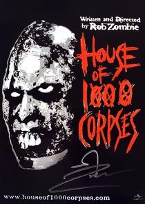 A Casa dos 1000 Corpos - Poster / Capa / Cartaz - Oficial 5