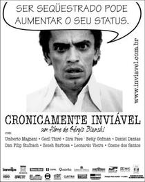 Cronicamente Inviável - Poster / Capa / Cartaz - Oficial 3