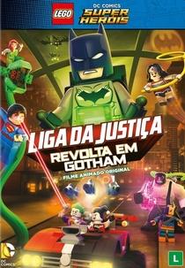Lego Liga da Justiça - Revolta em Gotham - Poster / Capa / Cartaz - Oficial 2