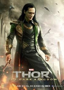Thor: O Mundo Sombrio - Poster / Capa / Cartaz - Oficial 4
