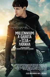 Millennium: A Garota na Teia de Aranha - Poster / Capa / Cartaz - Oficial 4