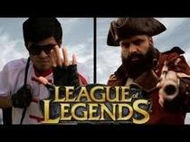 Lee Sin e Gangplank - League of Legends - Poster / Capa / Cartaz - Oficial 1