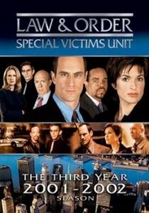 Law & Order: Special Victims Unit (3ª Temporada) - Poster / Capa / Cartaz - Oficial 1