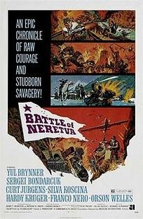A Batalha do Neretva - Poster / Capa / Cartaz - Oficial 1