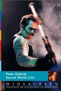 Peter Gabriel - Secret World Live - Poster / Capa / Cartaz - Oficial 1