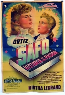 Safo - História de uma Paixão  - Poster / Capa / Cartaz - Oficial 1
