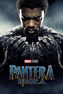 Pantera Negra - Poster / Capa / Cartaz - Oficial 2