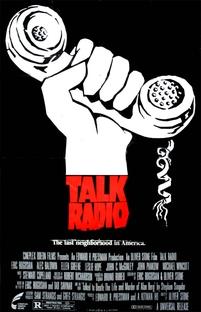 Talk Radio - Verdades Que Matam - Poster / Capa / Cartaz - Oficial 1