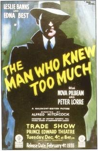 O Homem Que Sabia Demais - Poster / Capa / Cartaz - Oficial 4