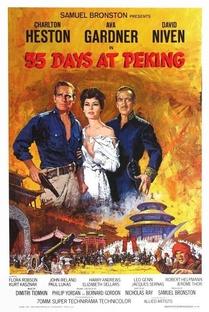 55 Dias em Pequim - Poster / Capa / Cartaz - Oficial 1