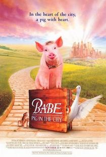 Babe - O Porquinho Atrapalhado na Cidade - Poster / Capa / Cartaz - Oficial 1