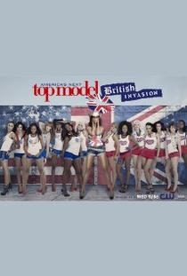 America's Next Top Model, Ciclo 18: British Invasion - Poster / Capa / Cartaz - Oficial 1